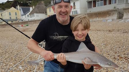 Neil and son