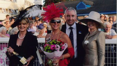 Pat Masterson at the races