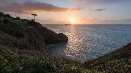Thatchers Point, Torquay - an example of the beautiful Torbay scenery