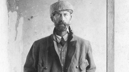Percy Harrison Fawcett, self-portrait, Bolivia in 1911. Courtesy and copyright of the Fawcett Estate