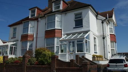 This substantial semi-detached house offers extensive accommodation arranged over three floors