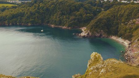 Anstey's Cove, part of nataurally inspiring Torbay to lure film producers