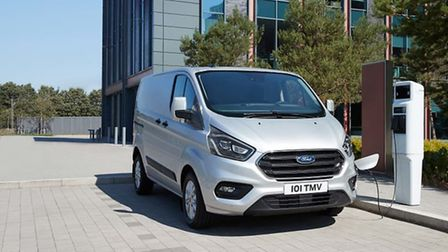 The new Ford Transit Custom PHEV has been voted the International Van of the Year in 2020