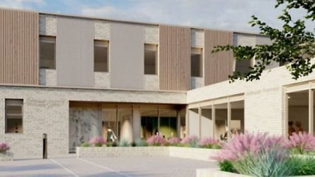 An illustration of the proposed Dartmouth Wellbeing Centre