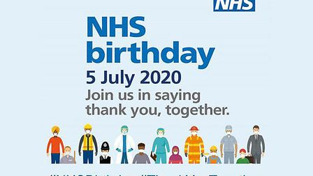 The NHS' 72nd birthday is on Saturday, July 5