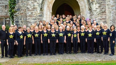 Torquay Rock Choir performed at a Play Torbay event in Dartington before lockdown