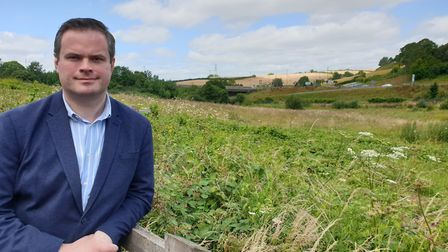 MP Kevin Foster at Edginswell