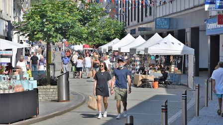 Busy times for the Torquay outdoor market