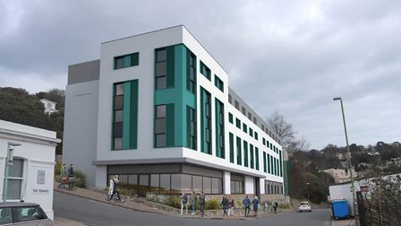 What the new Premier Inn in Torquay will look like