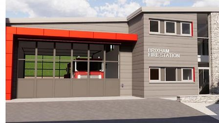 Plans for Brixham's new £1.2m fire station