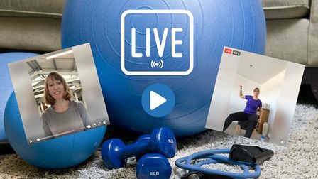 The healthy lifestyles team's Fabook Live sessions