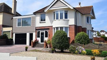 A four-bedroom detached family home in Laura Grove, Paignton