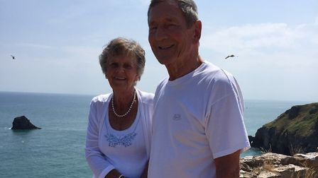 Torbay couple Anne and Tony Moore - 65 years wed