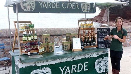 Yarde Cider - now at Cockington - at a past Torquay Food Festival
