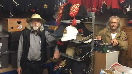 Lionel Digby starts the big clear-out after selling his costume business