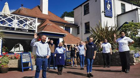 Staff at the Cary Arms in Torquay are celebrating after being shortlisted for a national tourism awa