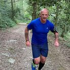 John Scammell has been running 10km a day for the Paignton Zoo appeal fund