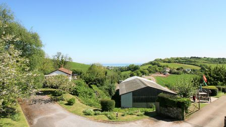 The view from the apartment in Raddicombe Drive, Brixham