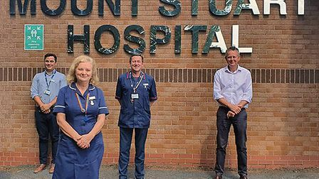 NHS staff relocated to private Mount Stuart Hospital, Torquay