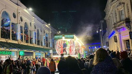Torquay's Christmas Carnival usually attracts thousands of spectators