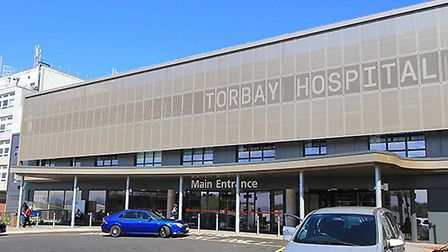 The main Torbay Hospital where staff parking is as issue