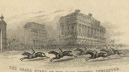 The St Leger Stakes Race, the oldest race in the world, was told to close doors to spectators