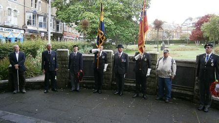 The Merchant Navy Day service in Paignton