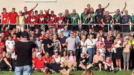 Friends, family and footballers celebrated the life of Dave Lavercombe