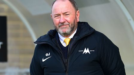 Torquay manager Gary Johnson. Photo: Micah Crook/PPAUK