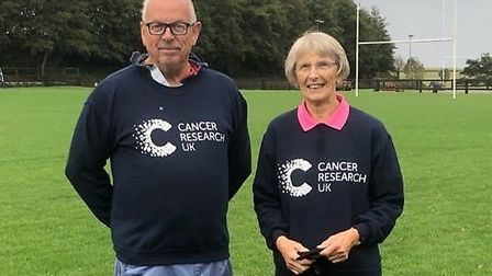 Martin Rogers and Alison Rose Price, the brother and sister raising money for cancer research