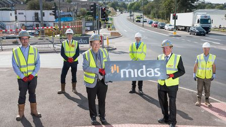 Midas announce the completion of the new junction off Brixham Road for Claylands Business Park, Paig