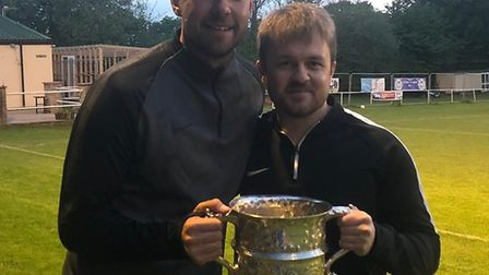 Ottery St Mary's new manager Billy Rouse with Mark Flay who will be joining him as assistant manager