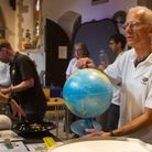 One of many demonstrations at Sidmouth Science Festival. Picture: Terry Ife