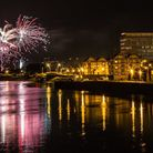 The annual fireworks display at Barnstaple Rugby Club could be seen from aroudn the town. Picture: w