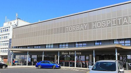 Torbay Hospital will be rebuilt as part of a hospital building programme worth 3.7 billion