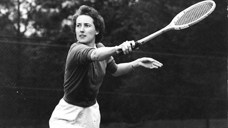 Angela Mortimer, who won her first Grand Slam at Roland Garros in 1955, then the Australian Champio