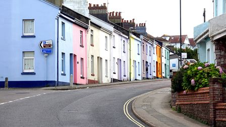 A Paignton street - the likely new divide will be between cities and coastal communities, with the l