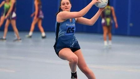 Netball in pre-Covid times