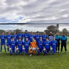 The Feniton Reserves. Picture; FENITON FC