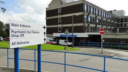 North Devon District Hospital in Barnstaple.