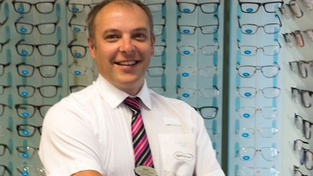 Specsavers Torquay store director SimonSimmonds