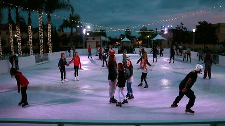 Abbey Christmas will feature the first real ice rink to have been installed in the Bay for a generat