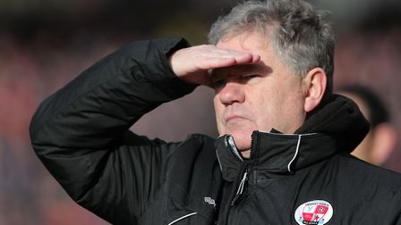 Crawley side now managed by former Exeter City assistant John Yems. Photo: Phil Mingo/PPAUK