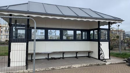 South Devon College construction apprentices renovated the shelters last year