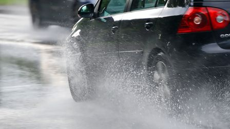 It's set to be wet on the roads, with a weather warning in place for rain