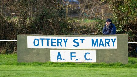 Ottery at home to Buckland Athletic. Ref shsp 06 20TI 7550. Picture: Terry Ife