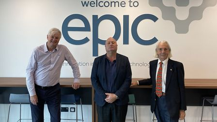 CAS Antennas at EPIC - Mike Badcott, Andrew Addy and John McKinnon