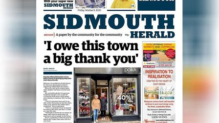 The new-look Sidmouth Herald