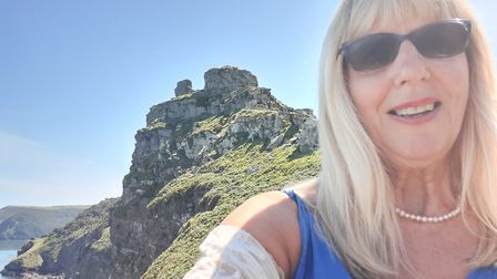 Actress, puppeteer and West Buckland drama teacher Angie Passmore has been walking 100 miles for Ma