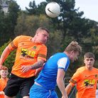 Kingskerswell & Chelston v Upton Athletic which Upton won 3-2. Photo: Al MacPhee